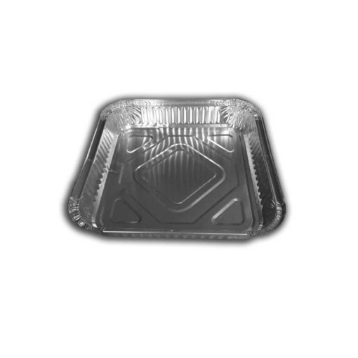 Square Foil Container 9 Inch Shallow