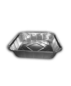 "Square Foil Container 9"" Deep"