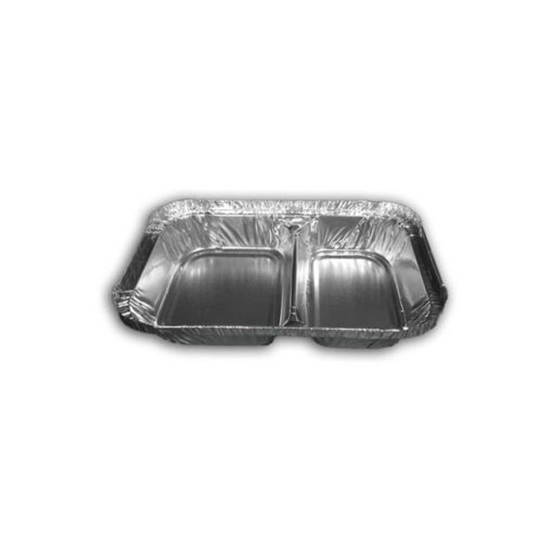 2 Compartment Foil Container small