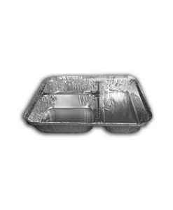 3 Compartment Foil Container