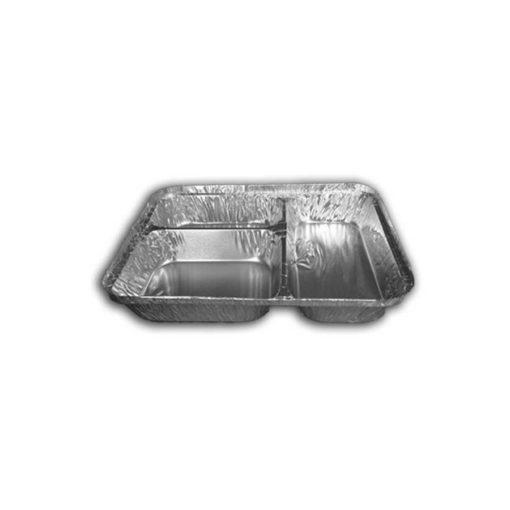 3 Compartment Foil Container