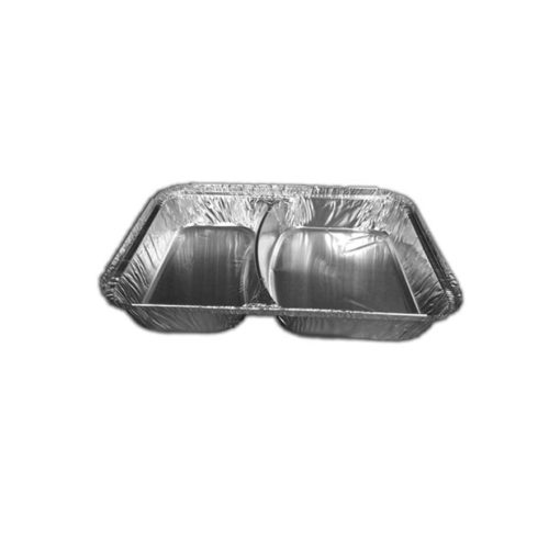 2 Compartment Foil Container