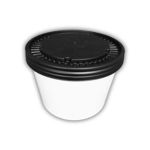 Paper Soup Cup and Lid 12oz