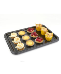 Rectangular Black Buffet Tray Base - 14