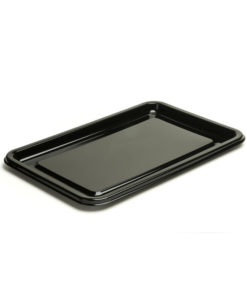 Rectangular Black Buffet Tray Base - 22
