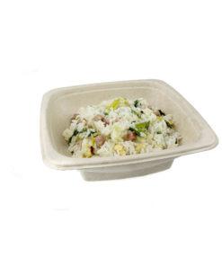 750cc Compostable Salad Plate