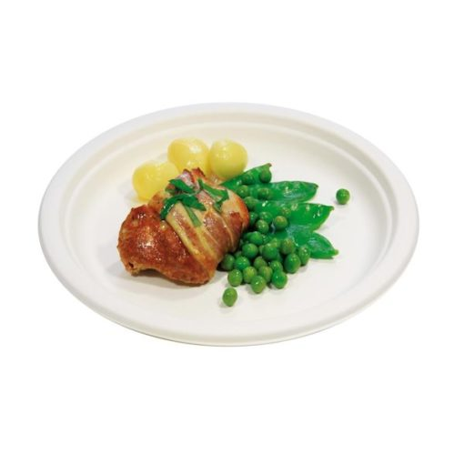 Paper Dinner Plate Compostable Superior Quality - PP9