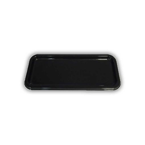 single line black platter base