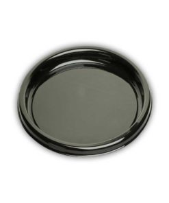 DSR12 - Round Black Buffet Tray - 12