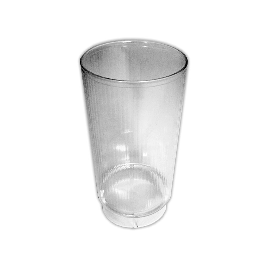 strong plastic glass small vase cased 50 aa catering