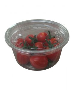 DM8 Crystal clear Container with lid