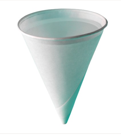 4oz Paper Cone Cold Cup