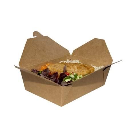 No.4 Snack Box Kraft