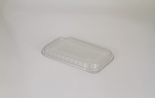 Clear Plastic Lid for Rectangle Smoothwall Foils