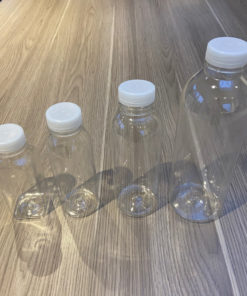 Juice Bottles with Tamper Evident Lids